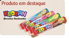 Krokan - Biscoitos Recheados